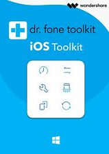 Wondershare Dr.Fone iOS Toolkit Alle Module WIN 1 Jahr Lizenz Download 94,99 !