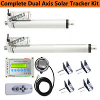 Dual Axis Solar Tracking Tracker&Linear Actuator&Controller Electronic Sun Track