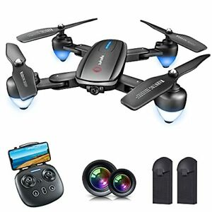 Zuhafa Drone T4 WiFi FPV RC with 1080P HD Camera for Kids and Adults, Beginners