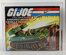 1983 Hasbro GI Joe Wolverine w/ Cover Girl AFA 85