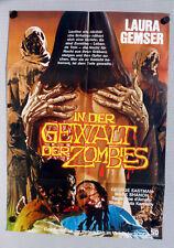 EROTIC NIGHTS OF THE LIVING DEAD * Eastman, Gemser German 1-Sheet FILMPOSTER ´80