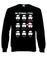 On Sithmas I Feel Jolly Stormtroopers Star Wars Jumper Sweater Pullover XM63