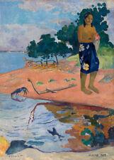 Haere Pape by Paul Gauguin 60cm x 43cm Art Paper Print