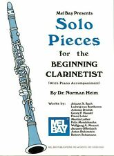 Pièces solo pour le début clarinettiste