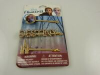 Disney Frozen 2 Barrettes Hair pin bling crystal Destiny Anna & Elsa Castle