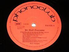 Pete Seeger We shall overcome/RDA LP 1966 phonoclub Amiga 840038