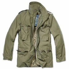 Parka Brandit 3108.1 M65 Classic Field Jacket Police Army Hidden Hood Olive