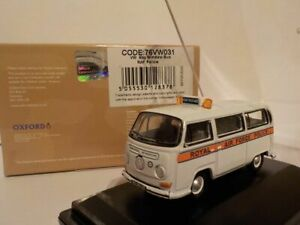 Vw Raf Police. Oxford Diecast Model Car. 1/76 Collectible