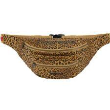 Supreme Barbour Waxed Cotton Waist Bag Leopard