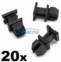 20x Mercedes Boot Trim Clips- Plastic Fasteners A12499007921 CLK CLS SL SLK etc