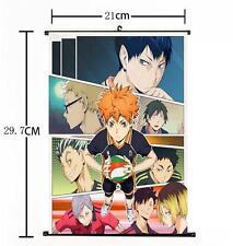 Hot Japan Anime Haikyuu!! Shoyo Hinata Shonen Home Decor Poster Wall Scroll 02