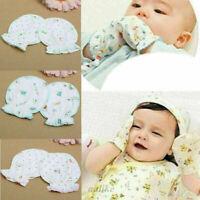 Baby Unisex Weicher Baumwolle Fäustlinge Kratzfäustlinge HandschuhePro V9X1 K6Y3