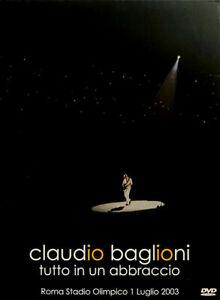 Claudio Baglioni Tutto In Un Abbraccio Roma Stadio Olimpico 1 Luglio 2003 2DVD