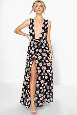 Chiffon Casual Floral Maxi Dresses for Women