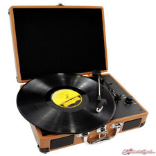 Pyle PVTT2U Retro Belt Drive Record Player Turntable USB To PC Connection