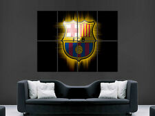 FC BARCELONA SOCCER FOOTBALL BARCA SPAIN WALL POSTER ART PICTURE PRINT LARGE