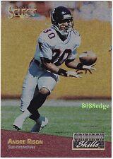 1993 SELECT GRIDIRON SKILLS: ANDRE RISON #8 OF 10 ATLANTA FALCONS 5 x PRO BOWL