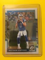 🔥🔥2017 DONRUSS OPTIC MATTHEW STAFFORD Base #94 Detroit Lions