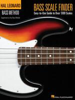 Bass Scale Finder  Bass Guitar  Book Only HL00695778