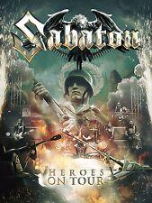 SABATON - HEROES ON TOUR 2 DVD + CD NEU