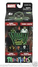 Marvel Minimates Villan Zombies Series 2 Diamond Select Marvel Comics 4 Pack New
