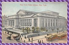 Carte Postale - New York Public Library, New York.