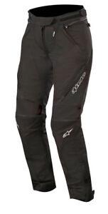 Alpinestars Women's Stella RAIDER Drystar Textile Riding Pants (Black)