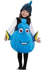 CHILD FINDING DORY BLUE FISH DELUXE 3D COSTUME SIZE 3T DG10049