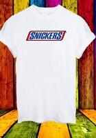 Snickers Chocolate Bar Men Women Unisex T-shirt 2747