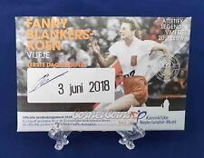 Nederland 2018 5 Euro Fanny Blankers Koen Eerste dag uitgave