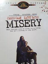 Misery - DVD -  Kathy Bates, Thriller Movie Stephen King R4 AU