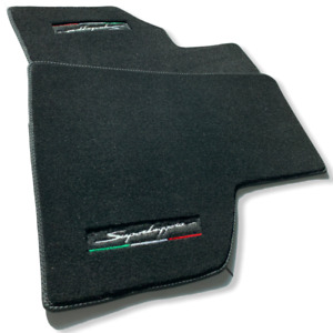 Floor Mats For Lamborghini Gallardo Black Tailored Carpets With Superleggera
