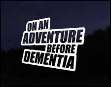Adventure Dementia Euro Vag Car VW Decal Sticker Vehicle Bike Bumper Vinyl