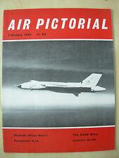 AIR PICTORIAL MAGAZINE FEBRUARY 1963 SKYBOLT BOMBER