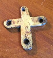 ORIGINAL 10th/11th CENTURY ANGLO SAXON LAMB BONE RELIGIOUS CROSS OF PROTECTION