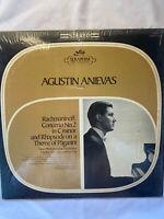 """AGUSTIN ANIEVAS-Rachmaninoff - 12"""" Vinyl Record LP - EX"""