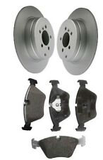 BMW 7 Series E32 730i, iL 730i, iL V8 Front Brake Discs and Pad Set 1986-1994