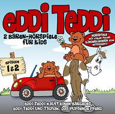CD Eddi Teddi Partie 2 Porter des pièces radiophoniques Pour Enfants 2CDs