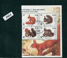 2603-SLOVENIA-Red Squirrel Block-CTO-2007