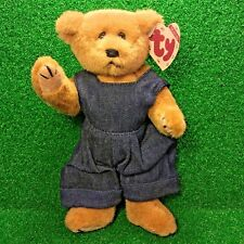 Ty Attic Treasures Gilbert The Bear Rare Retired 1993 Jointed Plush Toy MWMT