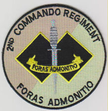 2ND COMMANDO REGIMENT SPECIAL FORCES PATCH HEAT ADHESIVE BACKING 90MM DIAMETER