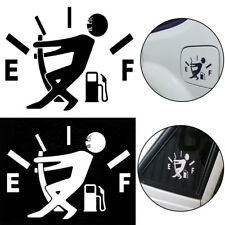 Funny Vinyl Tank Sticker Pull Fuel Tank Pointer To Full for Car JDM Decals NEW