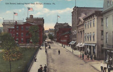 Altoona, Pennsylvania, Pu-1916; 12th Street, looking North from Bridge