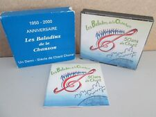 LES BALADINS DE LA CHANSON- 50 Ans De Chant Choral RARE 4-CD (The Best of)