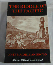 The Riddle of the South Pacific Rare 1924 Reprint Ethnographic Reference Book