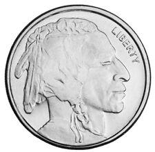 Buffalo Nickel Design 1/10 Oz Silver By Highland Mint 999 Fine (B109)