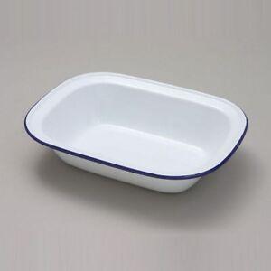 Rectangular Oval Single Individual Pub Portion Oven Pie Baking Dish Tray
