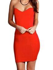 Boohoo Bandeau Stretch, Bodycon Dresses for Women