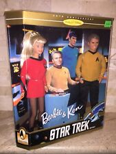 BARBIE AND KEN STAR TREK 30TH ANNIVERSARY COLLECTOR EDITION GIFT SET