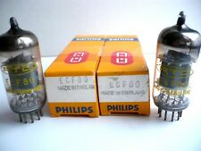 ECF 80 PHILIPS RTC  **  Made in England **lampe tube radio 2 Piece N.O.S 0273